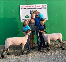 Harms Show Lambs :: Winners